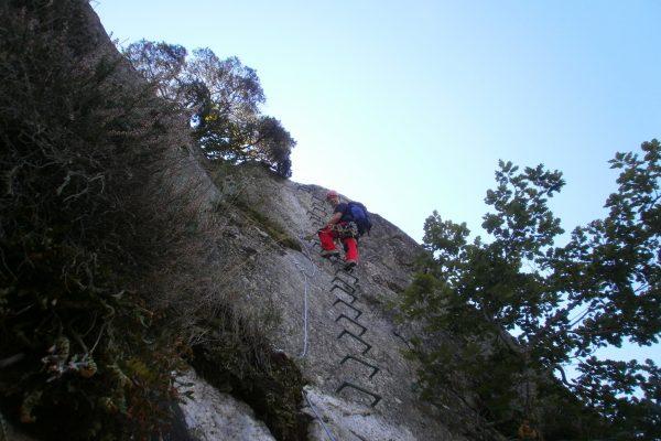 mountain rungs vias ferratas