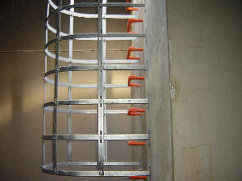 safety cage step irons