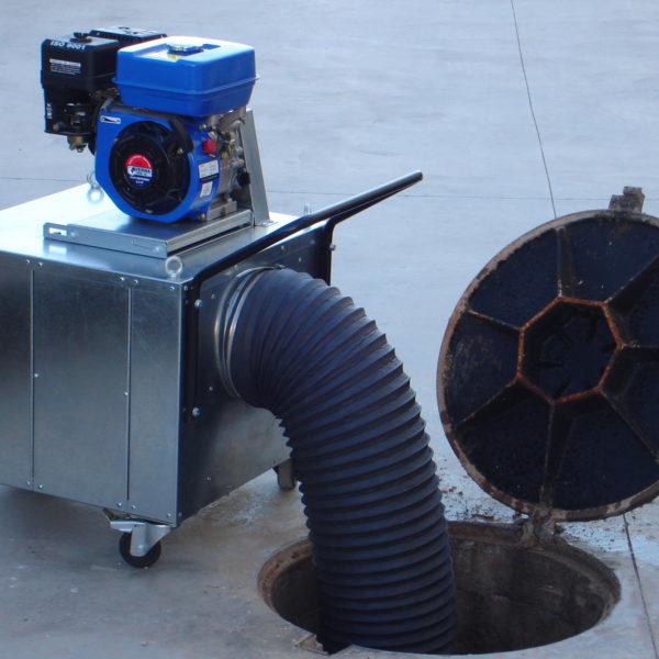 Motovent ventilation equipment