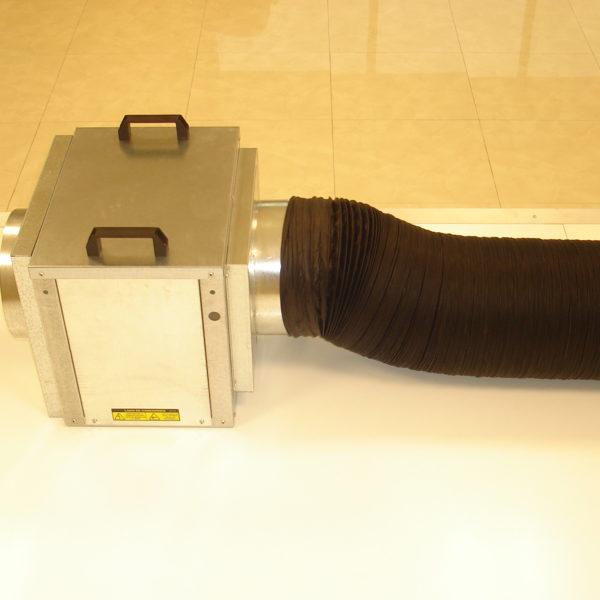 ventilation equipment confined spaces