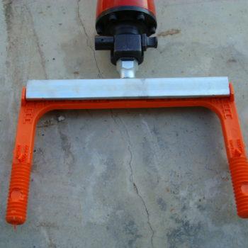 drill polypropylene steps