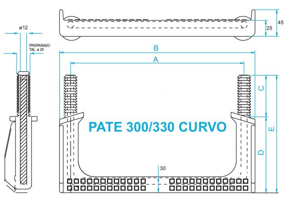 polypropylene manhole step irons