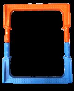 color customization manhole steps