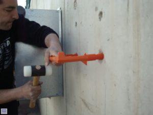 installation polypropylene manhole steps