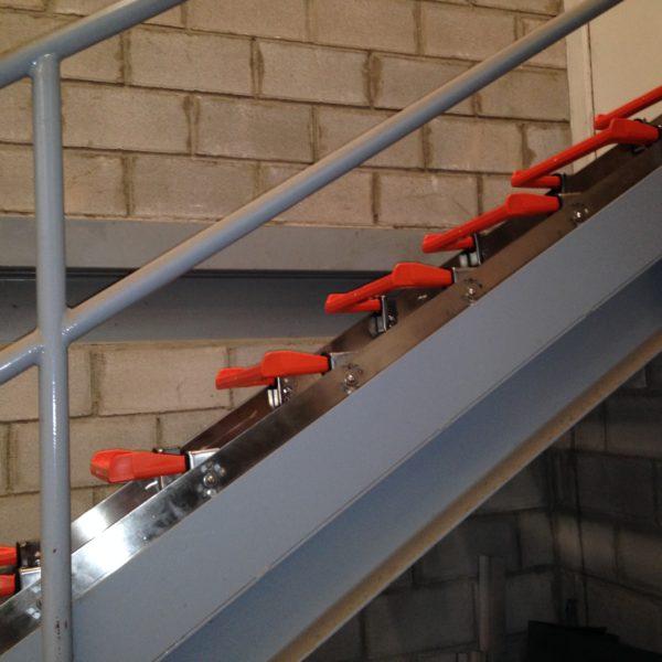 manhole steps ladder