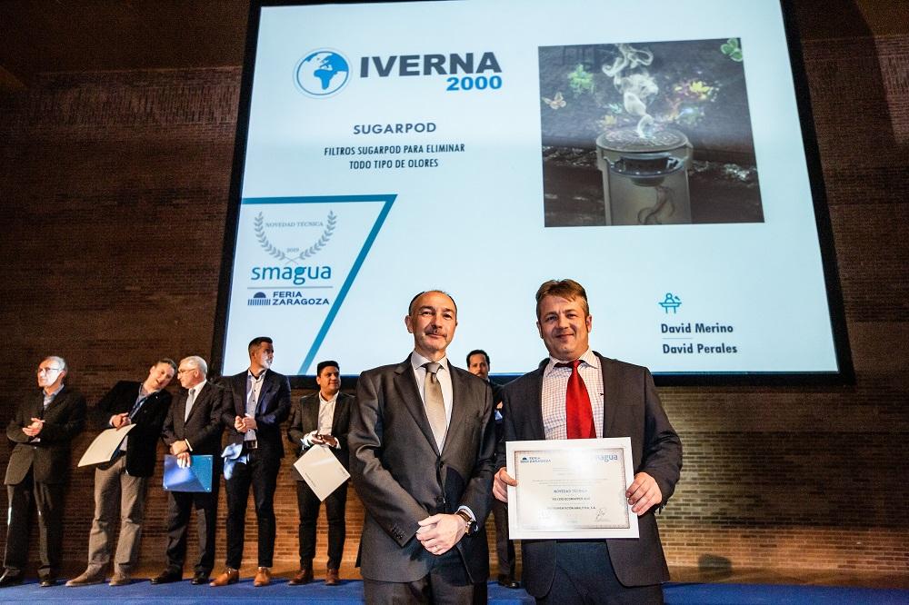 premio inovacion tecnica sugarpod smagua 2019