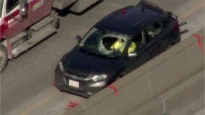 Car accident Manhole cover