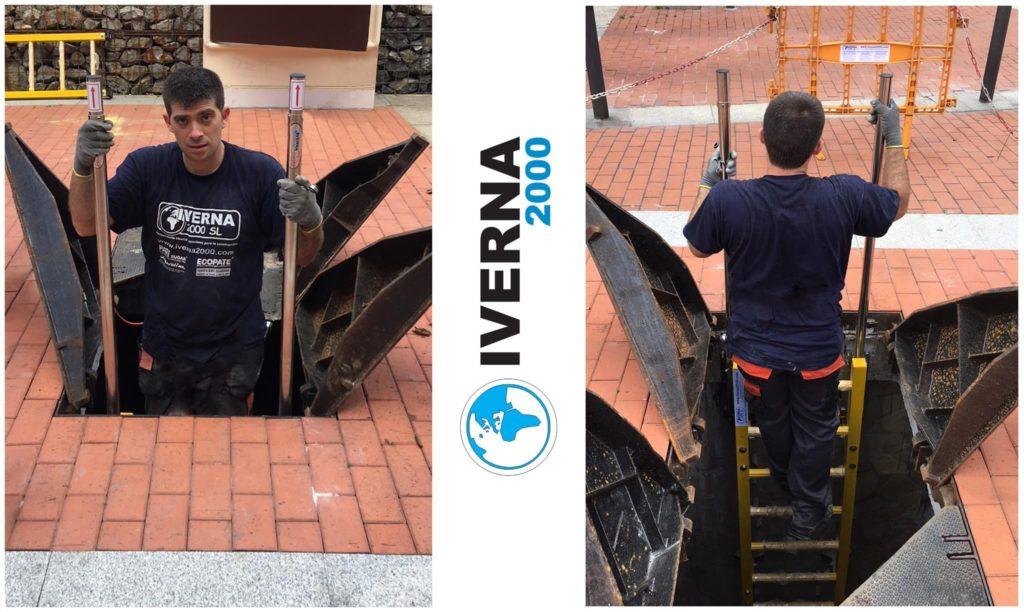 entry pole access manholes