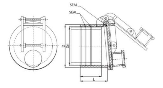 sugargate flap valve sewage