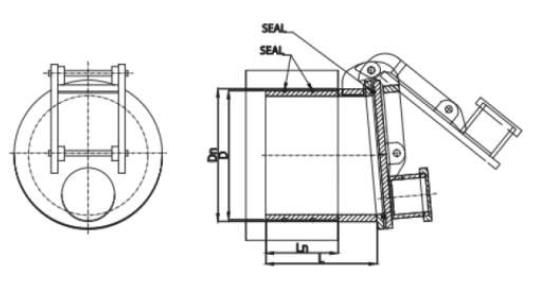 flap valve pvc