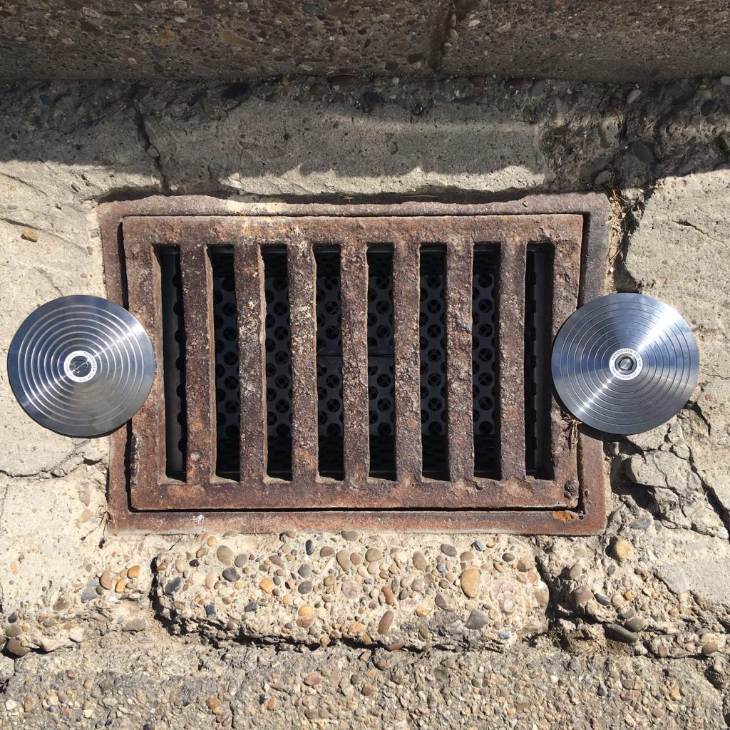 anti theft system for drains