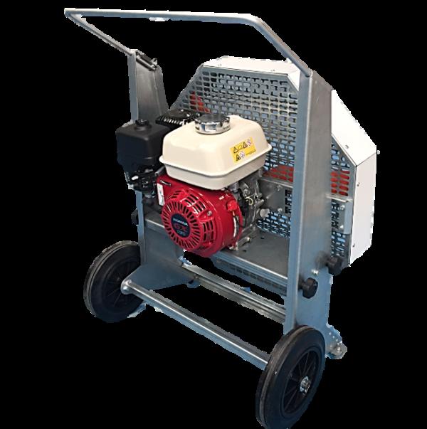 extractor de humo y gases saneamiento