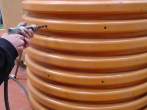 peldaño polipropileno para PVC