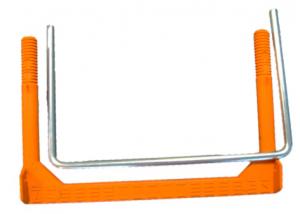 pates polipropileno acero zincado