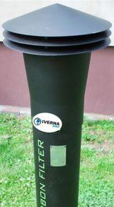 filtro carbon activado pozo septico