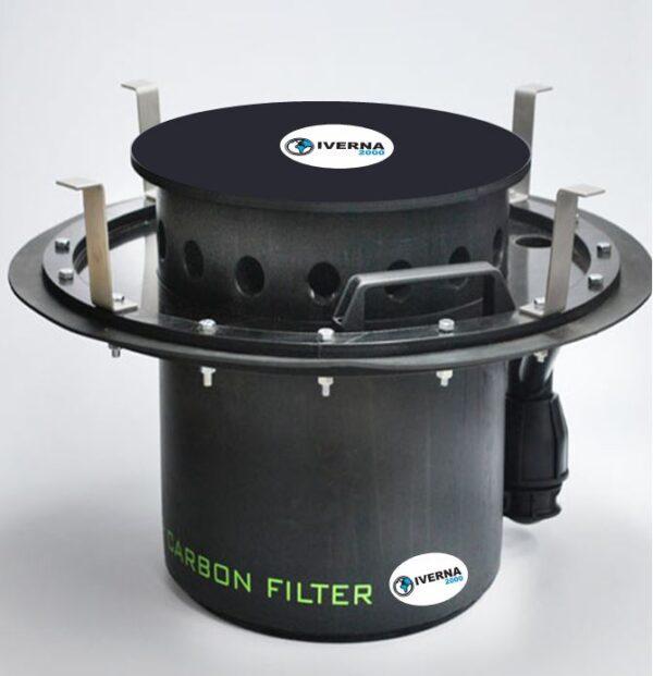 filtro carbon activado fosas