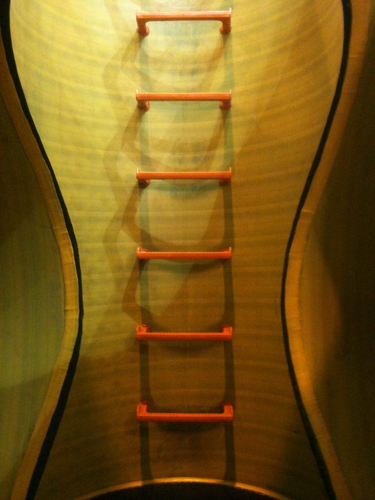 instalacion escalera pates