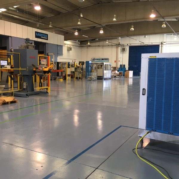 refrigeracion evaporativa almacen