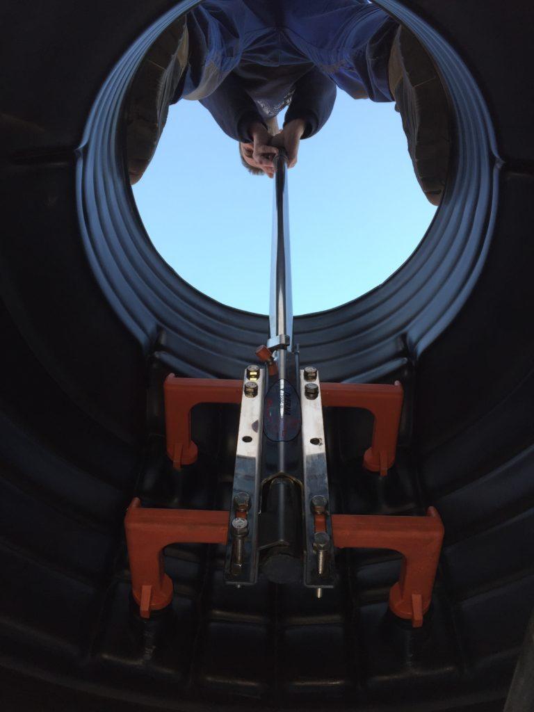 Asidero INOX polivalente para escalera de pates