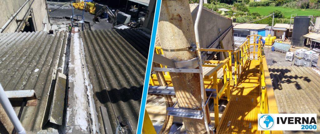 renovar escalera hierro